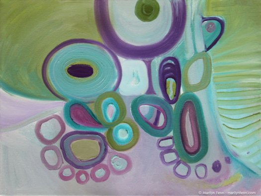 """Uplift"" Oil on canvas 12"" x 16"" © 2012 Marilyn Fenn"