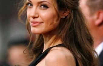 Angelina Jolie, acconciatura per le nozze