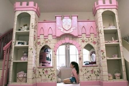 castello letto bambina