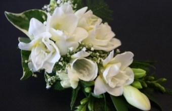 Corsage, bouquet da polso per la sposa