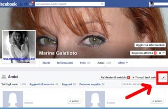 Facebook, nascondere la lista degli amici