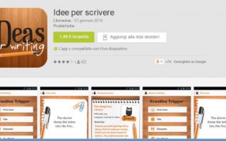 Apps per scrittori