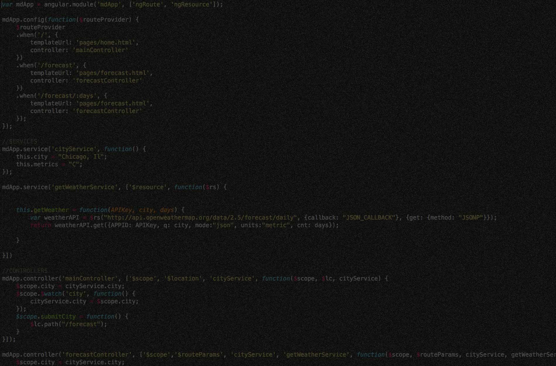 Angular Code