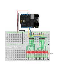 2 Ohm Wiring Diagram Flow Powerpoint Template Silverlight Developer » Blog Archive 74hc595 Shift Registers -