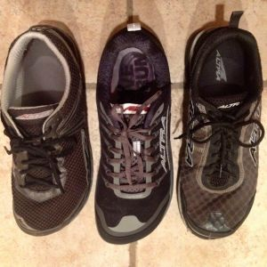 Comparison of the Altra Instinct 2.0, 1.5 and Original Instinct
