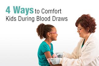 blood draw chair metal glider 4 ways to comfort kids during draws - mlab