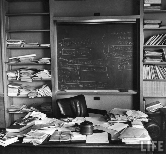 Einstein's Desk