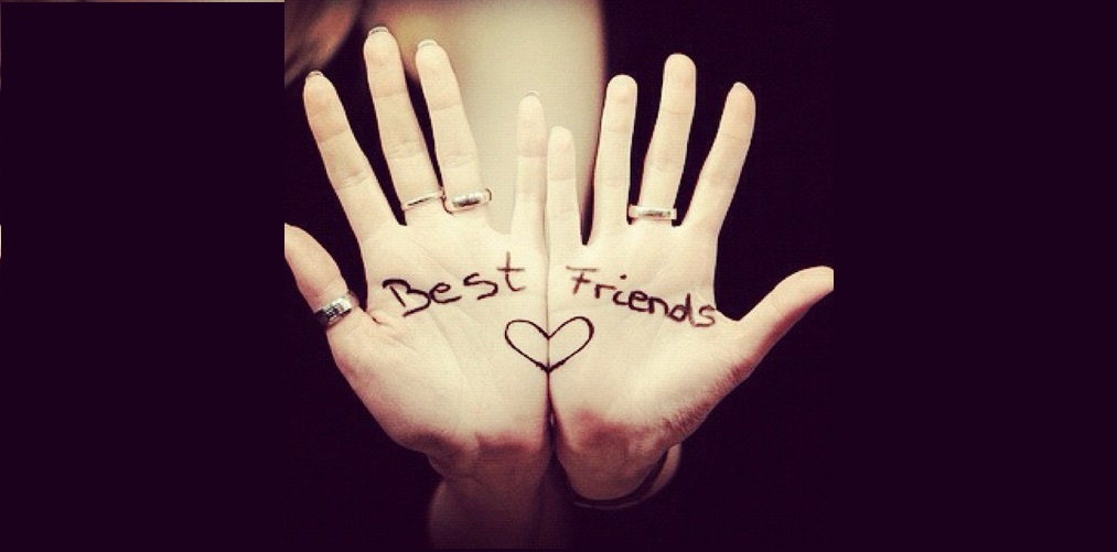 best friends hands