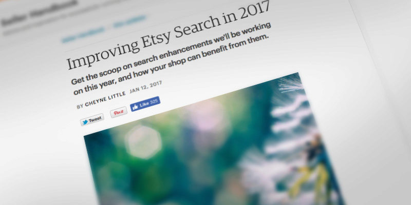 7 Key Takeaways from the 2017 Etsy Search Updates