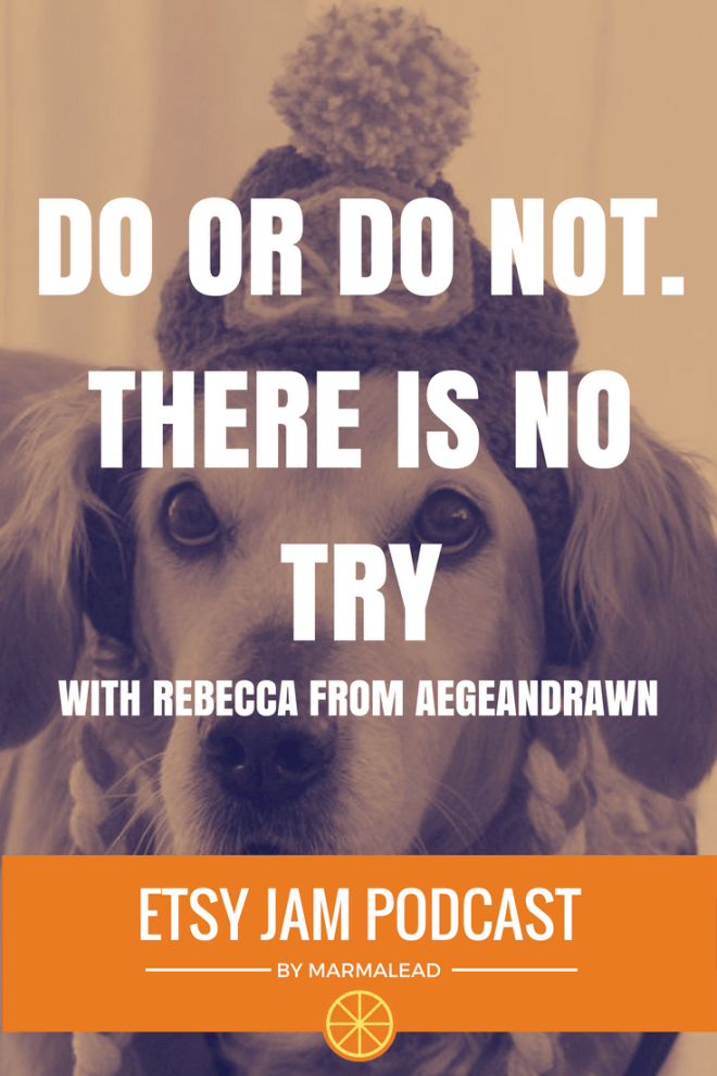 In this episode we have the pleasure of chatting with Rebecca, from Aegean Drawn. Rebecca has been on Etsy since 2015 and recently found her niche selling some awesome crochet dog costumes and hats. Rebecca shares some Yoda inspired life changing advice she received, and how it helped her get her shop on track for success. Join us for a conversation about customer communication, selling original art on Etsy, international shipping strikes, and more.