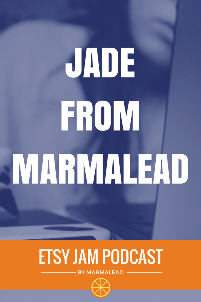 Are you making the most of the visual tools Etsy provides you to tell your shop's story? In this episode, our very own Jade (hey guys that's me!) has some great tips for your cover photo, shop icon, about page and more. You may recognize me as the author of our Etsy Jam blog post each week – but I also help out with a ton of other things at Marmalead including graphic design – which I have a passion for. Stick around to get to know me a little better and learn how you can do a quick self assessment on your shop's visual storytelling.