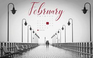 February 2019 Free Desktop Calendar