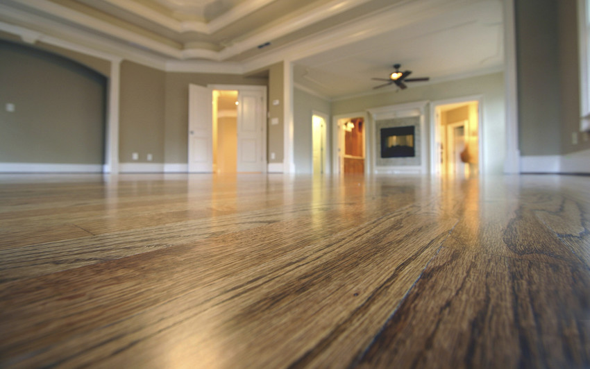 add wood floors for a good return on investment