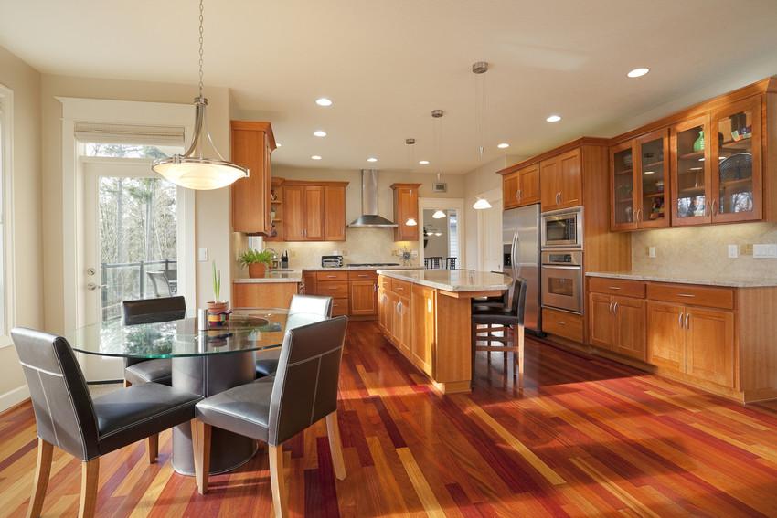 beautiful luxury kitchen in erie rental home