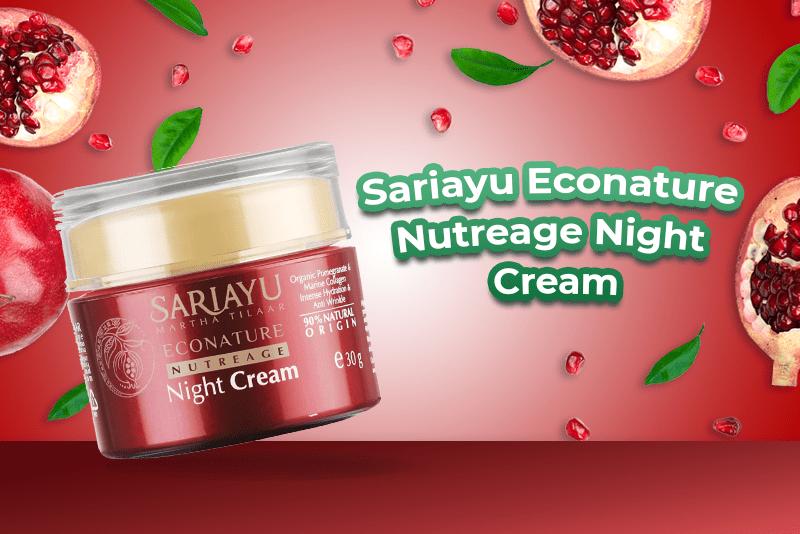 Sariayu Econature Nutreage Night Cream