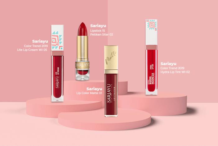 Koleksi Lipstik Merah