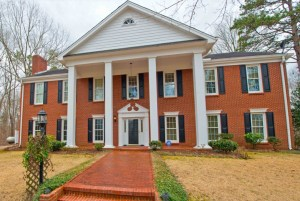 Secluded brick home on 35 acres