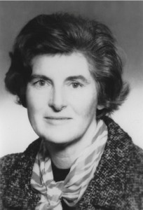 The author's mother Ruth in the 1950s