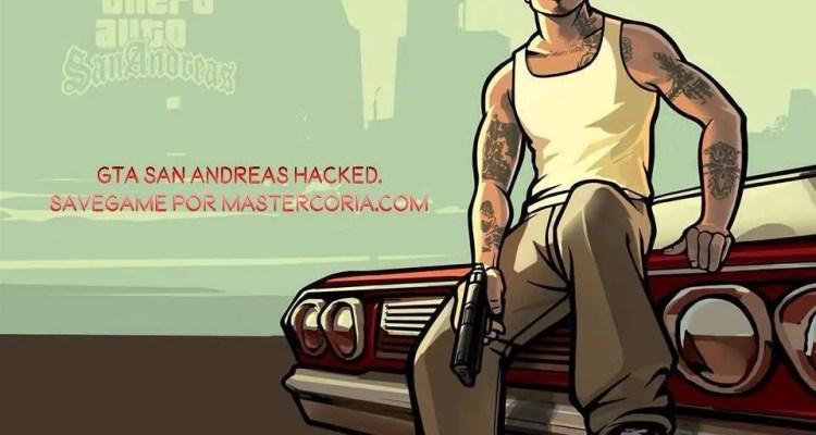¡Conoce un grandioso Hack para GTA San Andreas! Aquí te enseñaré a ponerte una PARTIDA 100% pasada, además de eso, unos MODSmuy buenos que seguro te encantarán. ¡ENTRA y aprende a Hackear GTA San Andreas!
