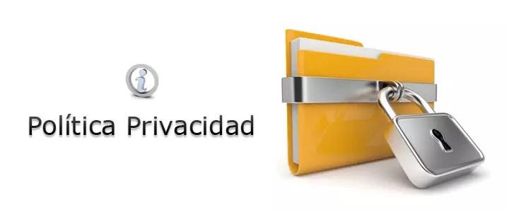 Política de privacidad: tus datos están seguros.