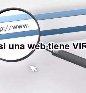 Verás un ⭐ VERIFICADOR de páginas web para ANALIZAR y verificar ✅ si una URL de una página web es MALICIOSA, SEGURA ⭐ o tiene algún tipo de virus.