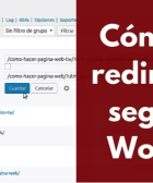 ¿Sabes la importancia que tiene hacer una redirección en WordPress? Bueno, por si no, aquí te la decimos y de paso te ayudamos a hacer redirecciones. ¡ENTRA!