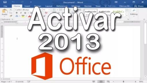 Aprende a ACTIVAR permanentemente Microsoft OFFICE 2013 Full AQUÍ ⭐ Paso a paso usando un ACTIVADOR (crack) o Claves de Office 2013. ✅ ¡ENTRA! ✅