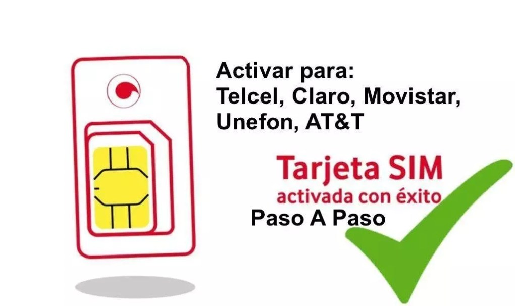 🥇 How to ACTIVATE CHIP / SIM card for Telcel, Movistar, Claro and more