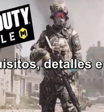 ⭐ ¿Qué es? ¿cuándo sale; fecha de LANZAMIENTO de COD Mobile? ✅ ¿estará DISPONIBLE COD Mobile para iPhone y Android? ⭐ ¿Requisitos de COD Mobile?