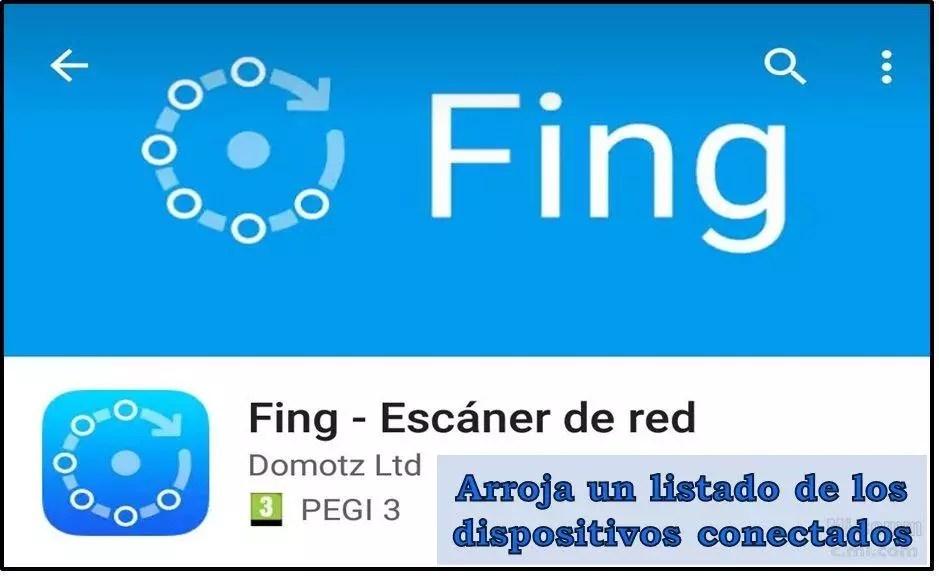 Fing: app para saber si te roban el WiFi.