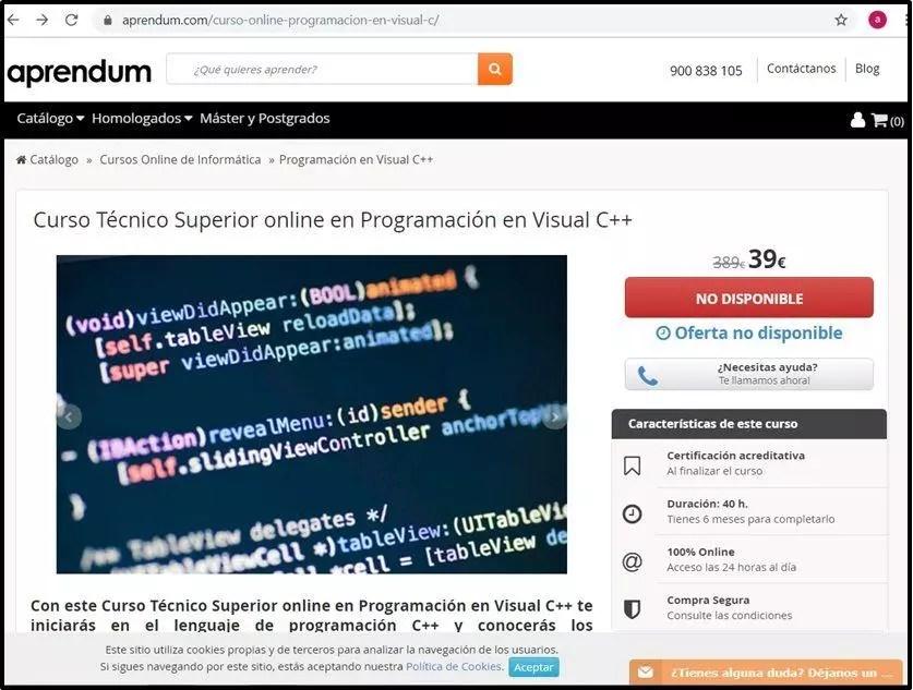 Curso de Visual C++ avanzado.