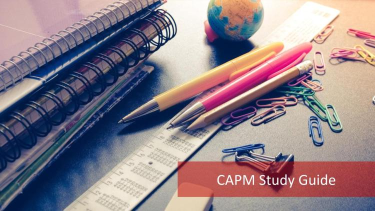 CAPM Study Guide