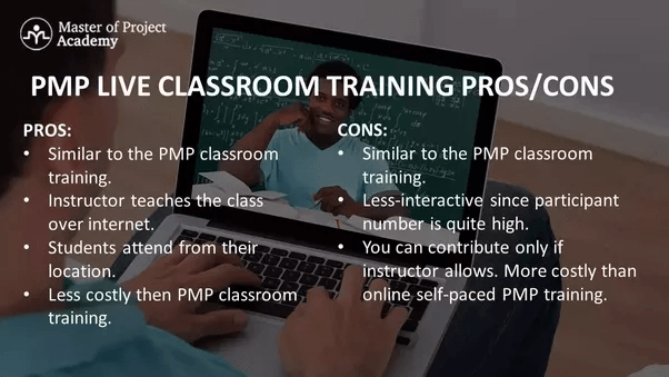 PMP certification live classroom training