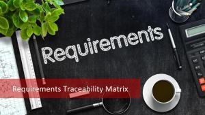 Requirements Traceability Matrix: Track & Control Requirements