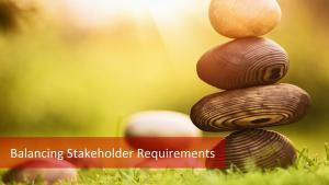 How to Balance and Resolve Competing Stakeholder Requirements?