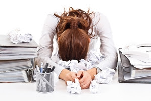 Employees who are burned out often seem more irritable than normal.