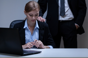 Sexual harassment has no place in a work environment for employees of either gender.