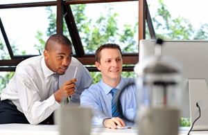 A peer to peer mentorship can boost employee engagement and achievement.