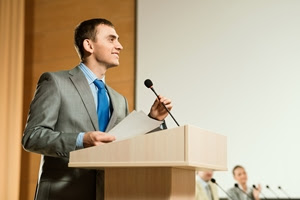 This article may help you improve your public speaking skills.