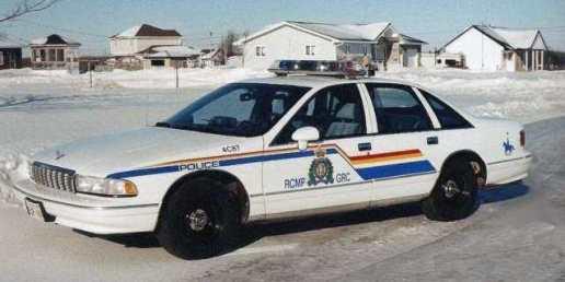 1994 Chevy Caprice Classic Police - RCMP