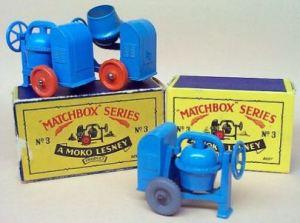 Matchbox 03A : Cement Mixer