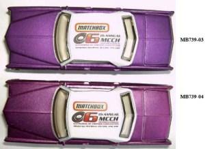 Matchbox MB739 : 1969 Cadillac Sedan Deville