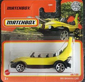 Matchbox MB1197 : Big Banana Car (2021 Basic Range)