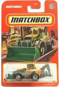 Matchbox MB1176 : MBX Backhoe