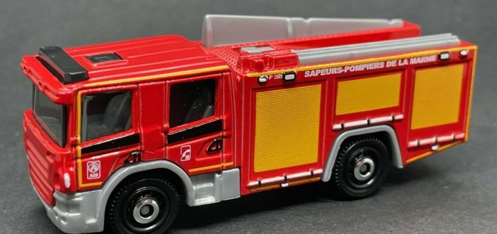 Matchbox MB1086 : Scania P360 Fire Engine (France Collection)