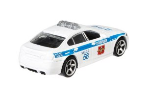 Matchbox MB966 : BMW M5 Police (Russia Collection)