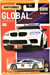 Matchbox MB966 : BMW M5 Police (Global Collection)