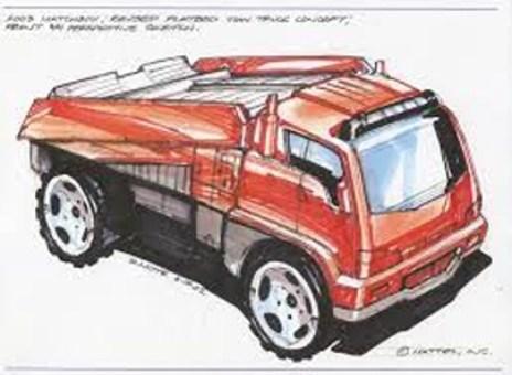 Matchbox Car Carrier