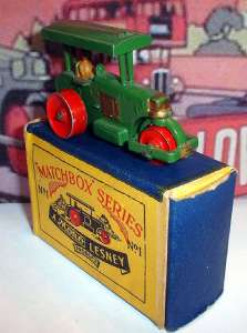Matchbox 01A - Diesel Road Roller