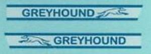 Matchbox Greyhound decals